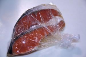 塩鮭のみりん漬け焼き・ポリ袋