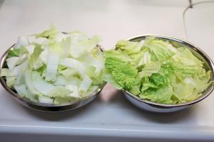 白菜と豚しゃぶしゃぶ肉のさっ煮ボウル